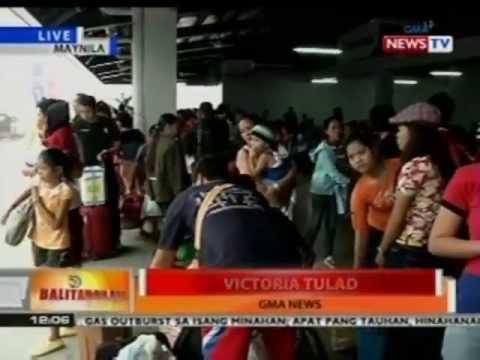 BT: Mahigit 1300 pasahero, inaasahang darating sa Manila North Harbor Port ngayong araw