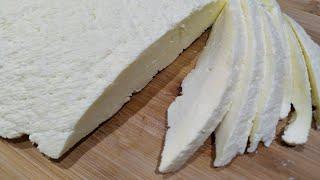 Домашний СЫР за 10 минут всего 3 ингредиента Tender Homemade Cheese in 10 Minutes 3 Ingredients