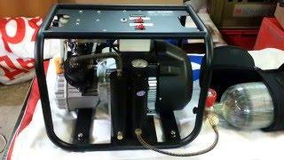 Компрессор высокого давления YOUDA Lux  30МПа (обкатка)(Обкатка и закачка баллона. Сайт продавца http://aizeng.ru/youda., 2016-03-17T11:18:02.000Z)