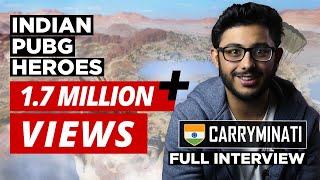 Indian Heroes of PUBG | Episode 1: CarryMinati | Ajey Nagar | CarryIsLive