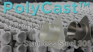 PolyCast™ - a 3D Printing Filament for Metal Casting