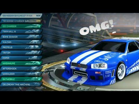 Rocket League® All DLC Cars