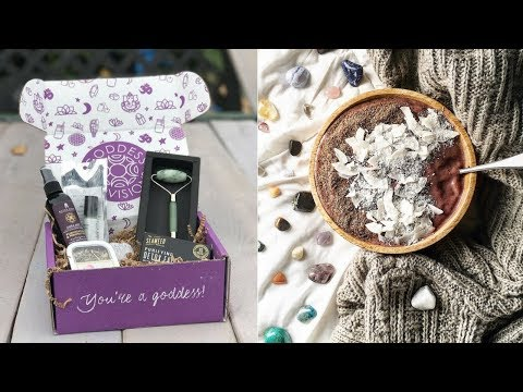 GODDESS PROVISIONS UNBOXING