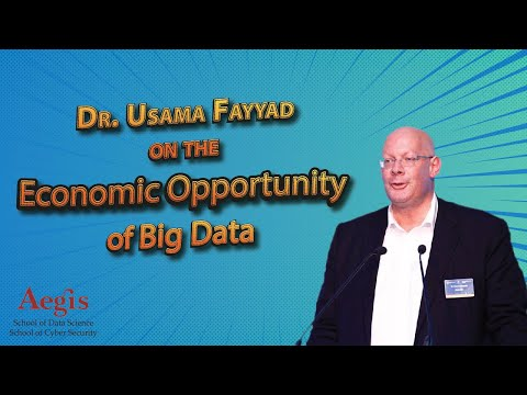 Dr Usama Fayyad, 1st Chief Data Officer speaking on Data Science at Aegis Data Science Congress 2017