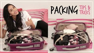 Packing Tips To Save Time And Space | Travel Hacks