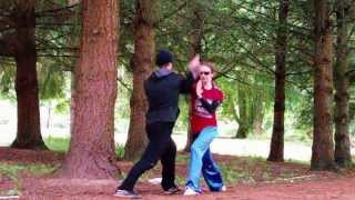 Fight demo Shen Chien Kung fu School
