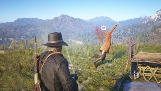Red Dead Redemption 2 - Crazy High Action Combat & Funny Moments Compilation #4