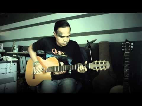 Potret (Akim & The Majistret) - Fingerstyle Cover Instrumental Acoustic Akustika