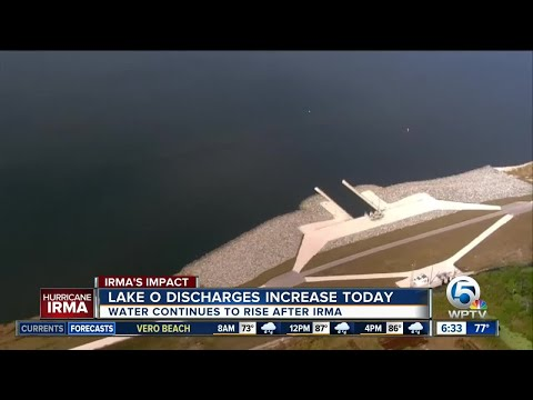 Army Corps to release water to the west from Lake Okeechobee