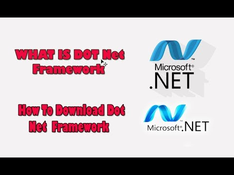 What is Windows Dot Net Framework and How To Download Net Framework ...