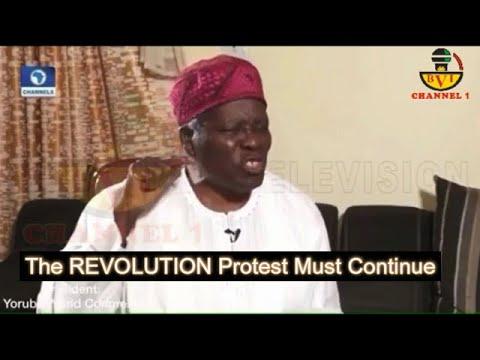 We Are Living Like Slaves In Nigeria - Yoruba Leader Affirms