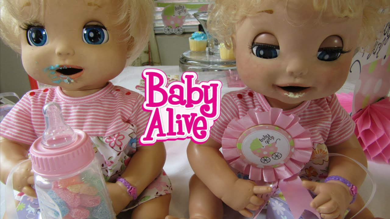 Baby Alive 2006 Soft Face Twin London And Paris Baby