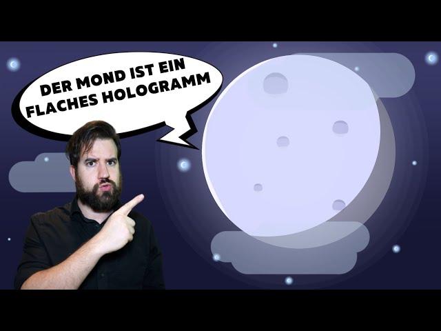 Der Mond ist ein flaches Hologramm?! Die absurdesten Verschwörungstheorien zum Mond!