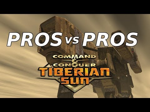 C&C Tiberian Sun: PRO Vs PRO EPIC 40 Minute Battle With Commentary