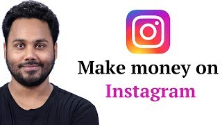 How to earn money from instagram ???
