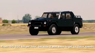 Lamborghini LM002. Lamborghini looks back with its first SUV and talks with testdrivers!