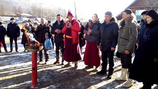 Глава Бурятии открыл центр сойотской культуры в Окинском районе