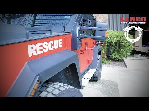 Lenco Response & Rescue Vehicles - HQ Highlight
