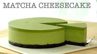 노오븐 말차(녹차) 치즈케이크 만들기 No Bake Matcha(Green tea) Cheesecake