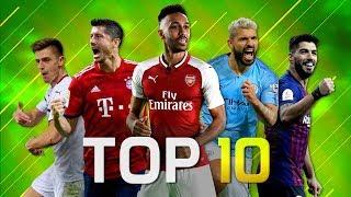 Top 10 Strikers In Football 2018/2019