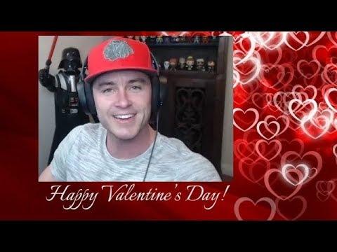 Ryan Kelley: Live Stream  Valentine's Day