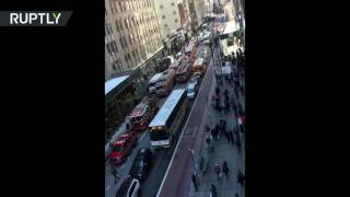 Empire State Building evacuated after fire breaks out in basement