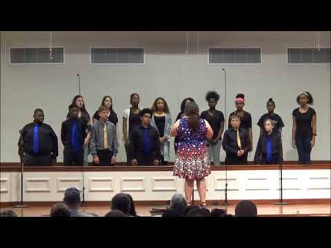 Olive Branch Middle School Choirs 2017 Spring Pop Concert - Boys Ensemble
