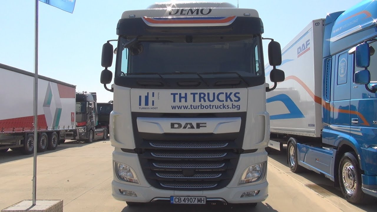DAF XF 480 Tractor Truck (2018) Exterior and Interior
