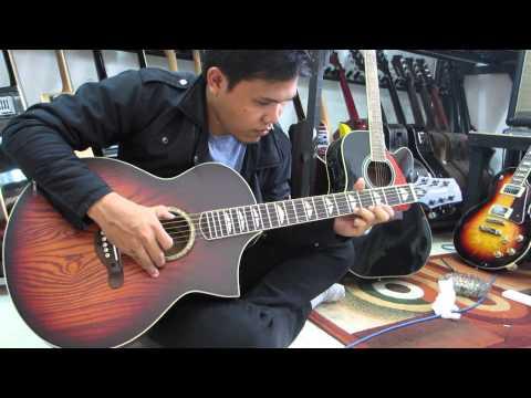 cover nothing else matters metallica cheksound akustik gillmore GA06 EQ original (selamatmusic)