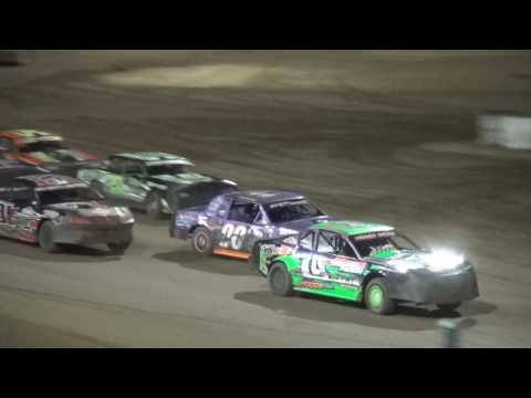 IMCA Stock Car feature Independence Motor Speedway 7/22/17