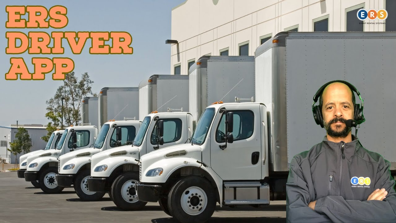 ERS Driver App   Free, Unlimited Users   505-435-9731   Event Rental Systems   Party Rental Software