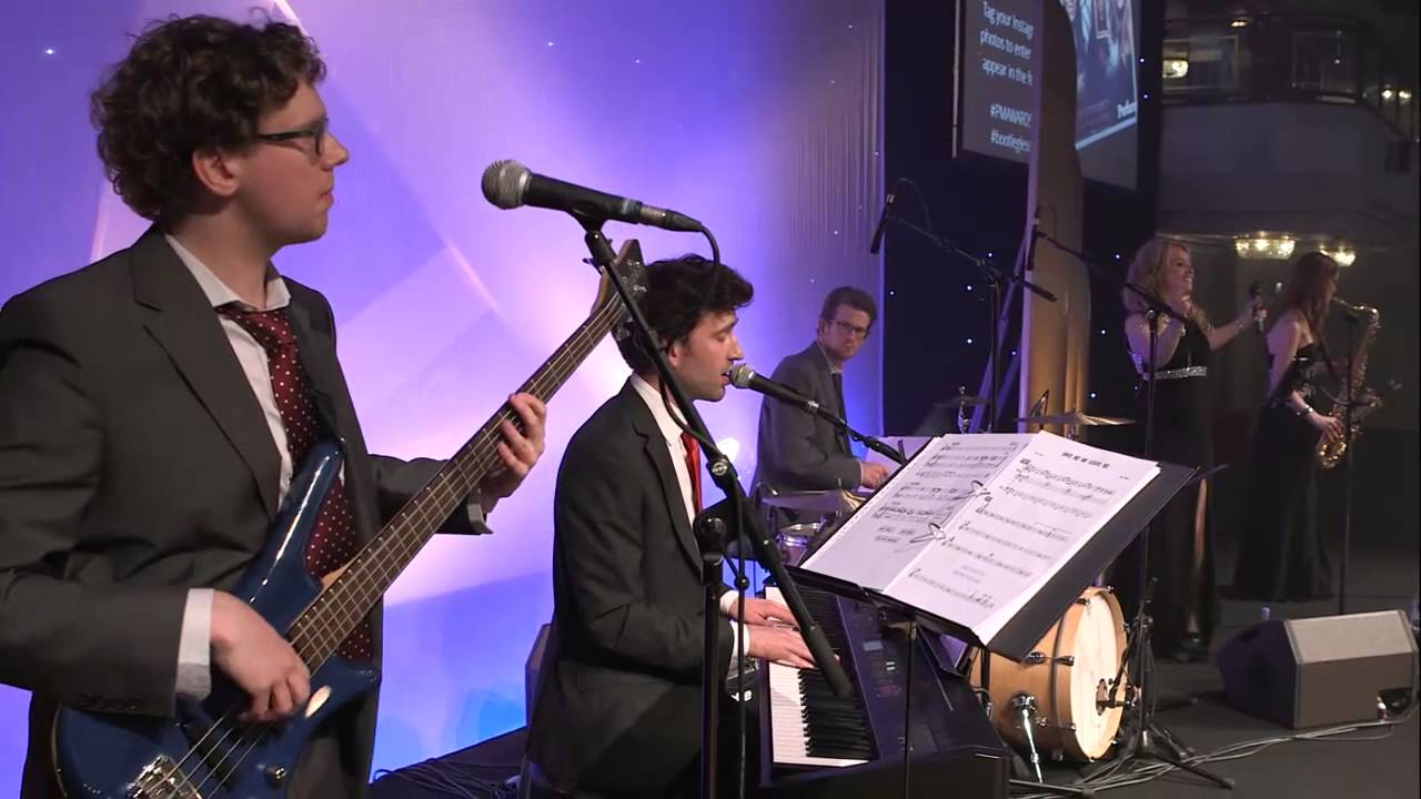 Modern Swing Wedding Band The Diamond Collective Youtube