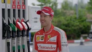 Átlagos hétköznap egy Shell töltőállomáson - Sebastian Vettellel a főszerepben
