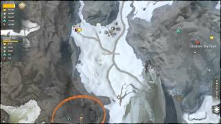 GW2 Dredgehaunt Cliffs Dissun's mines entrance