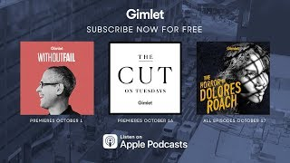 Gimlet's New Fall Shows (2018)