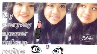 MY EVERYDAY SUMMER MAKEUP ROUTINE /2014 Thumbnail