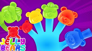 Jelly Bears Finger Family | Nursery Rhymes For Babies | Kids Songs with Jelly Bears