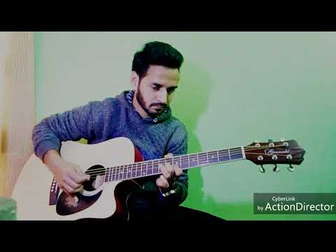Sach keh rha hai diwana   Guitar lead Lesson by Rydmoz  with slow motion