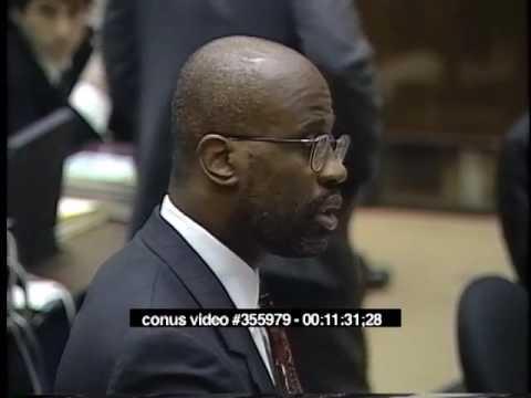 OJ Simpson Trial - March 31st, 1995 - Part 1