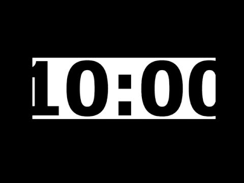 10 Minute Countdown Timer with Alarm