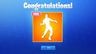 FORTNITE REGALA 1 FREE BAILE TO EVERYONE!
