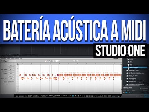 Cómo convertir batería acústica a MIDI