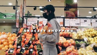 GROCERY SHOPPING IN KOREA My Daily Pamper Routine