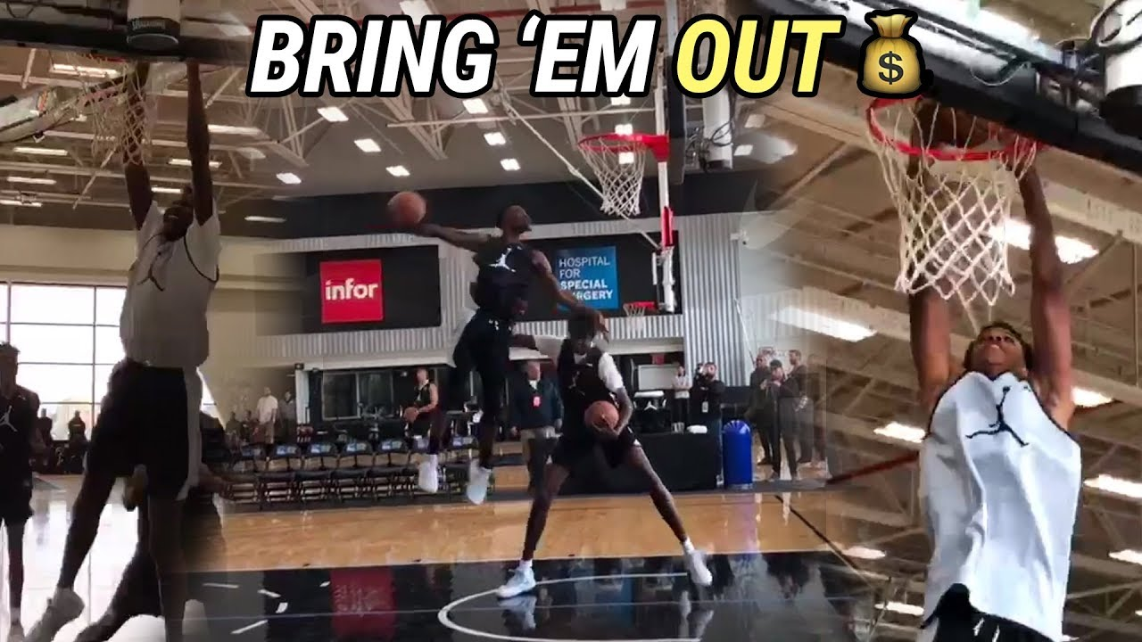 shareef-o-neal-bol-bol-are-in-nyc-for-jordan-brand-classic-full-practice-highlights