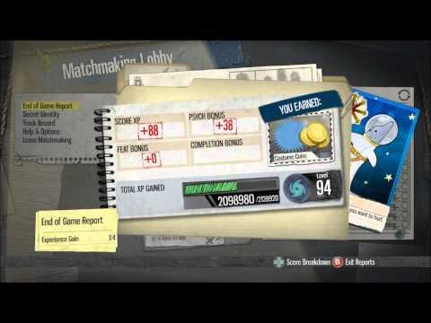 Gotham city impostors XP glitch 30-40K per game