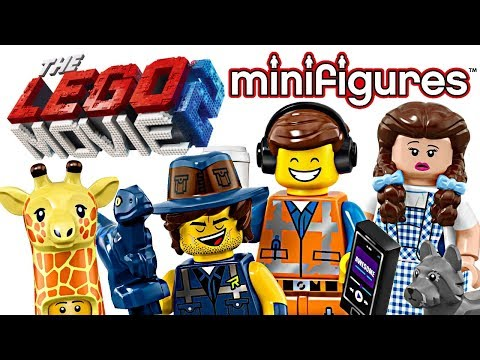 The LEGO Movie 2 Minifigures - My Thoughts!
