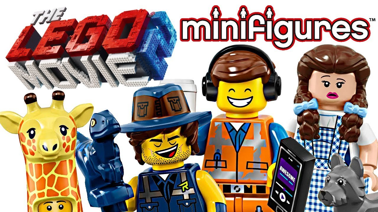 The Lego Movie 2 Minifigures My Thoughts Youtube