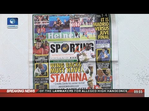 Sports This Morning: Analysing Trending Stories On  Newspaper Review