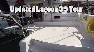 Updated Lagoon 39 Tour