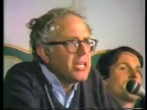 Bernie Sanders Brings Down the House after Winning 3rd Term as Mayor (1985)